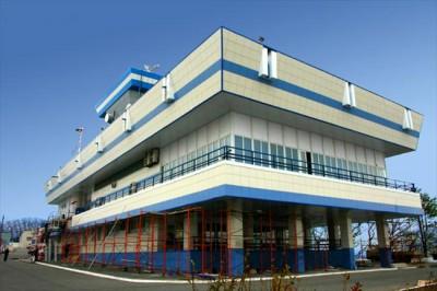 Центр управления движением судов на мысе Каменского