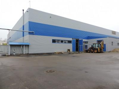 Завод по производству стекольных изделий